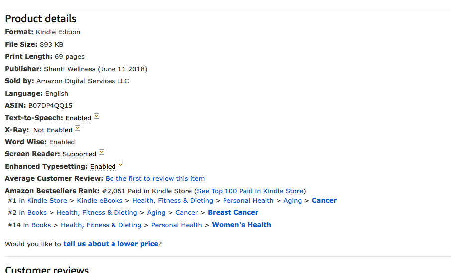 Amazon.caBestsellerResilience During Your Breast Cancer Journey: How to Thrive After Your Diagnosis and Treatment